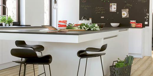 These five kitchen remodeling trends bring beauty, style and some unexpected charm to the heart of the home. | Quick•Step Style Blog